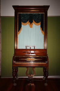 16 English Upright Grand Fortepiano By John Broadwood And
