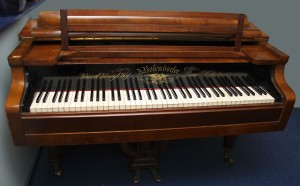 Schureck grand fortepiano music instrument Bosendorfer 1846